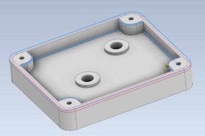 Autodesk Inventor 3D Fillet Model