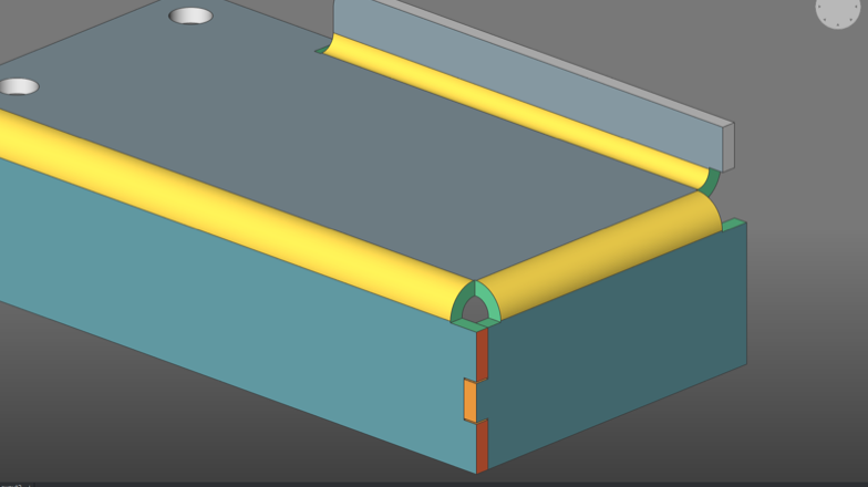 Flanges Bends Junctions and Tabs