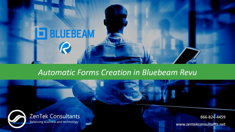 Automatic Forms Creation in Bluebeam Revu