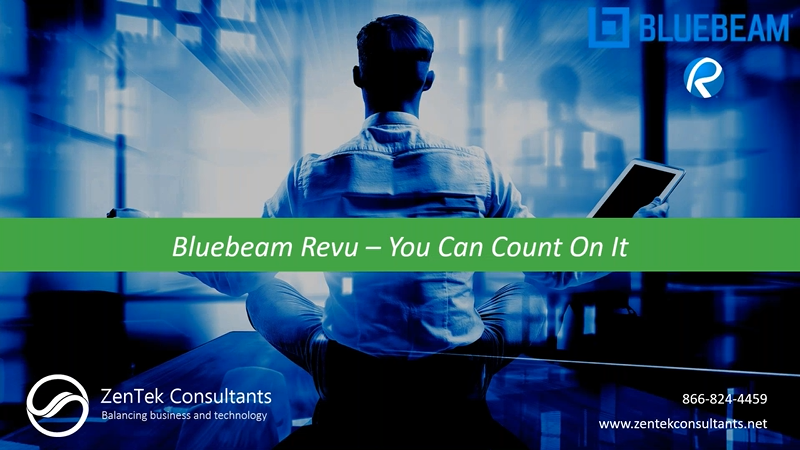 Bluebeam Revu - You Can Count on It