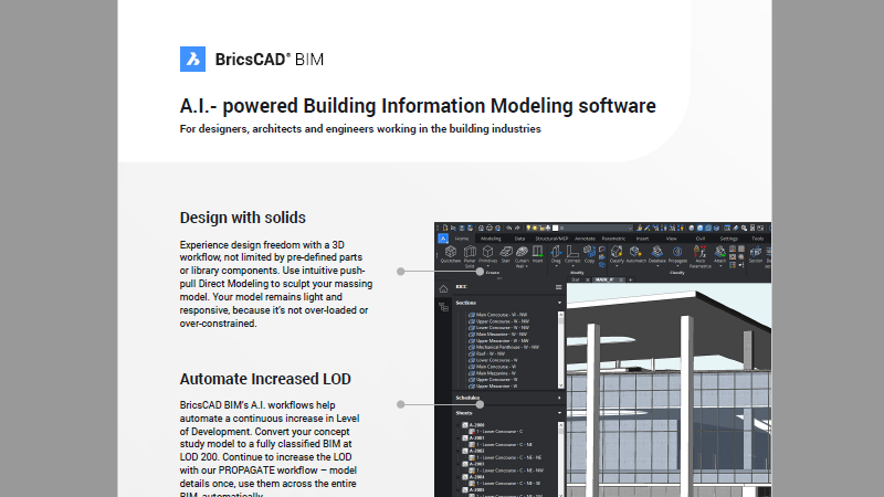 BricsCAD Brochure