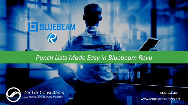Punch Lists Made Easy in Bluebeam Revu