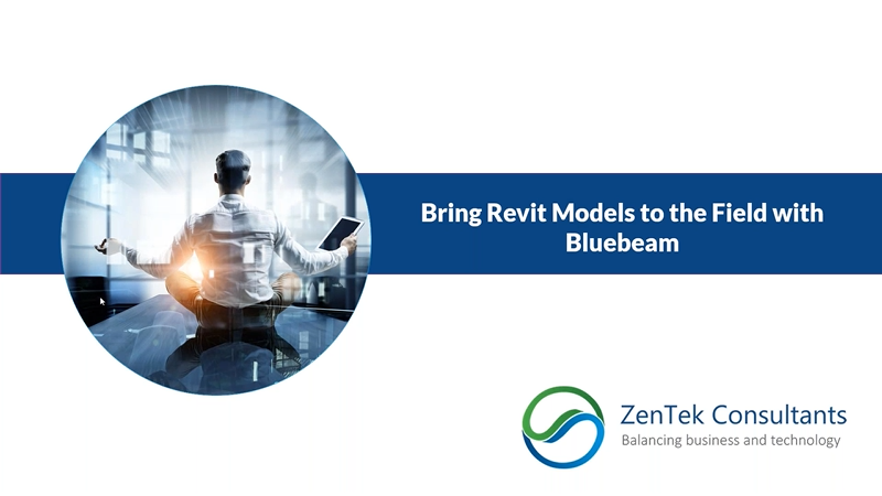 Bring Revit Models to the Field with Bluebeam Revu