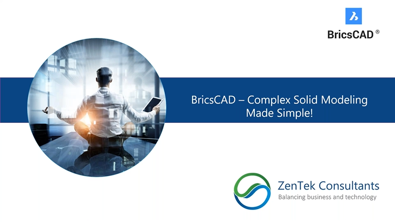 Complex Solid Modeling Made Easy in BricsCAD