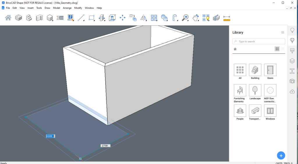 Quick Draw Tool in BricsCAD Shape